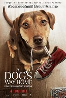 A Dog's Way Home - Thai Movie Poster (xs thumbnail)