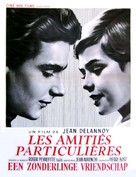 Les amitiés particulières - Belgian Movie Poster (xs thumbnail)