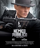 Public Enemies - Italian Movie Poster (xs thumbnail)