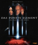 The Fifth Element - German Blu-Ray cover (xs thumbnail)