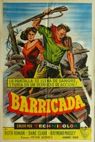 Barricade - Argentinian Movie Poster (xs thumbnail)