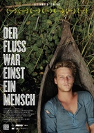 The River Used to Be a Man - German Movie Poster (xs thumbnail)