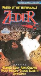 Zeder - Dutch VHS movie cover (xs thumbnail)