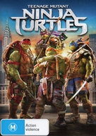 Teenage Mutant Ninja Turtles - Australian DVD movie cover (xs thumbnail)