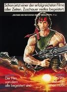 Rambo: First Blood Part II - German Movie Poster (xs thumbnail)