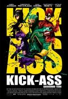 Kick-Ass - Brazilian Movie Poster (xs thumbnail)