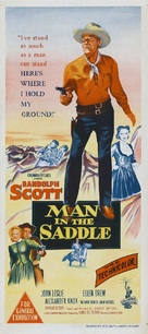 Man in the Saddle - Australian Movie Poster (xs thumbnail)