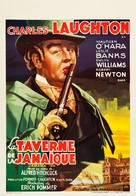 Jamaica Inn - Belgian Movie Poster (xs thumbnail)