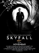 Skyfall - Serbian Movie Poster (xs thumbnail)