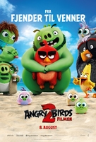 The Angry Birds Movie 2 - Danish Movie Poster (xs thumbnail)