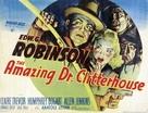 The Amazing Dr. Clitterhouse - British Movie Poster (xs thumbnail)