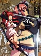 """Hyakka Ryoran: Samurai Bride"" - Japanese Key art (xs thumbnail)"