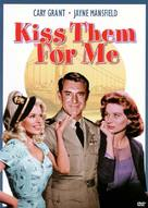 Kiss Them for Me - DVD movie cover (xs thumbnail)