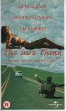 The Sure Thing - British VHS cover (xs thumbnail)
