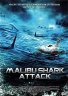 Malibu Shark Attack - French DVD cover (xs thumbnail)