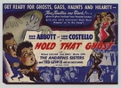 Hold That Ghost - Movie Poster (xs thumbnail)