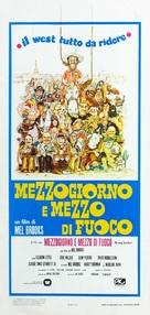 Blazing Saddles - Italian Movie Poster (xs thumbnail)
