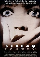 Scream - German Movie Poster (xs thumbnail)
