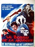 El jorobado de la Morgue - Belgian Movie Poster (xs thumbnail)