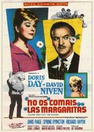 Please Don't Eat the Daisies - Spanish Movie Poster (xs thumbnail)