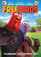 Free Birds - Canadian DVD cover (xs thumbnail)