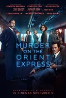 Murder on the Orient Express - New Zealand Movie Poster (xs thumbnail)