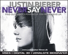Justin Bieber: Never Say Never - Danish Movie Poster (xs thumbnail)