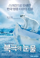 To the Arctic 3D - South Korean Movie Poster (xs thumbnail)