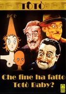 Che fine ha fatto Totò baby? - Italian DVD cover (xs thumbnail)