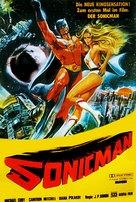 Supersonic Man - German Movie Poster (xs thumbnail)