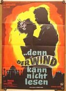 The Wind Cannot Read - German Movie Poster (xs thumbnail)