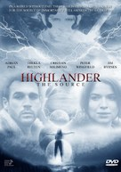 Highlander: The Source - DVD cover (xs thumbnail)