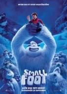 Smallfoot - Swedish Movie Poster (xs thumbnail)