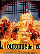 La corona di ferro - French Movie Poster (xs thumbnail)