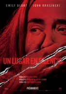 A Quiet Place - Mexican Movie Poster (xs thumbnail)