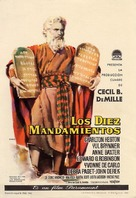 The Ten Commandments - Spanish Movie Poster (xs thumbnail)