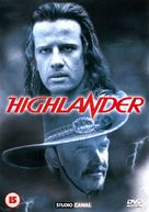 Highlander - British DVD movie cover (xs thumbnail)