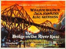 The Bridge on the River Kwai - British Movie Poster (xs thumbnail)