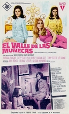 Valley of the Dolls - Spanish Movie Poster (xs thumbnail)