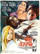 The Night of the Iguana - French Movie Poster (xs thumbnail)