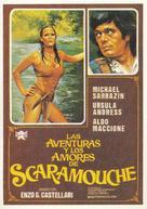 Avventure e gli amori di Scaramouche, Le - Spanish Movie Poster (xs thumbnail)