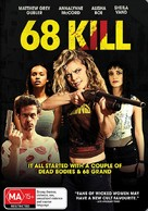 68 Kill - Australian DVD movie cover (xs thumbnail)