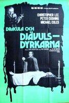 The Satanic Rites of Dracula - Swedish Movie Poster (xs thumbnail)