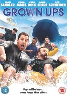 Grown Ups - British DVD cover (xs thumbnail)