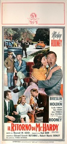 Andy Hardy Comes Home - Italian Movie Poster (xs thumbnail)