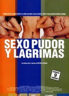 Sexo, pudor y lágrimas - Spanish Movie Poster (xs thumbnail)