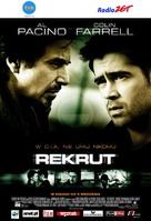 The Recruit - Polish Movie Poster (xs thumbnail)