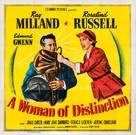 A Woman of Distinction - Movie Poster (xs thumbnail)