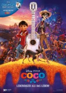 Coco - German Movie Poster (xs thumbnail)
