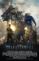 Transformers: Age of Extinction - Mexican Movie Poster (xs thumbnail)